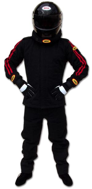 Tailored Nomex 1-Layer, 2-Piece Racing Suit - SFI 3.2A/1
